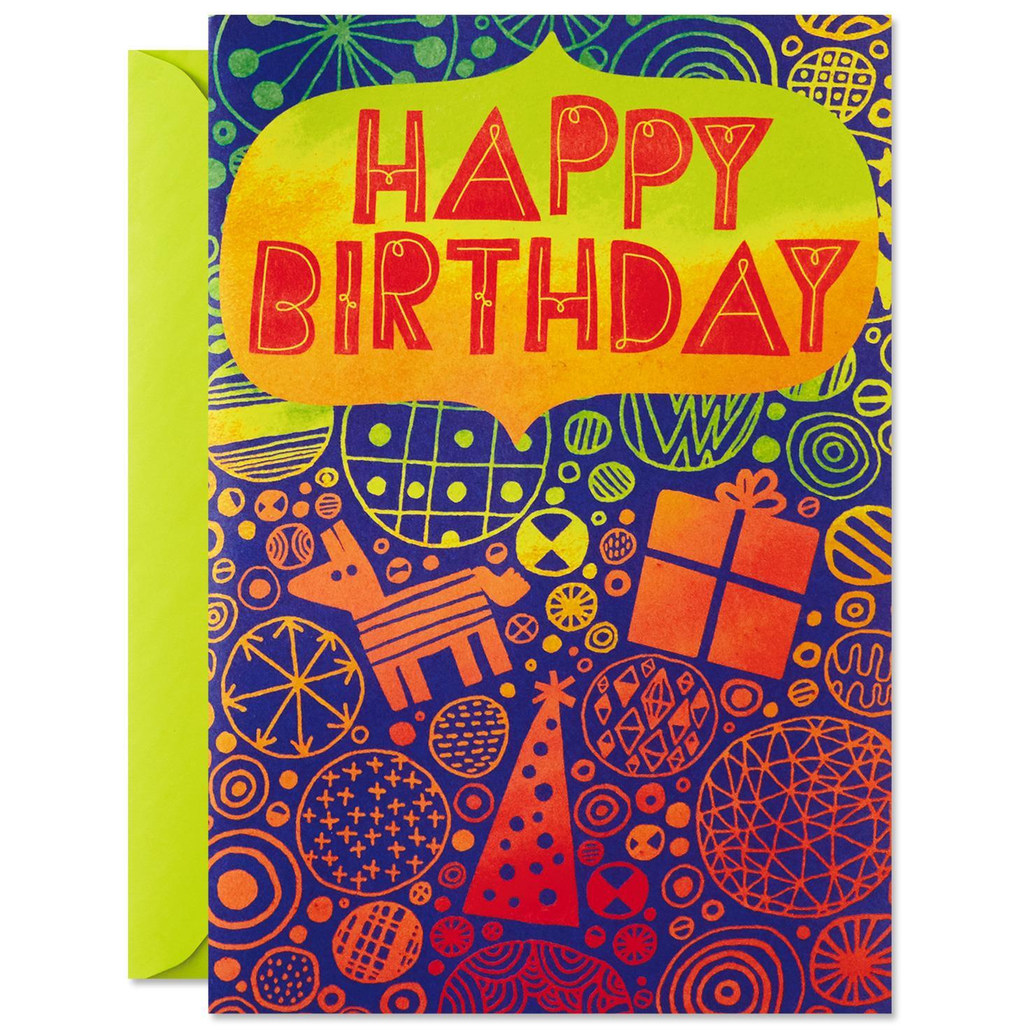 Cake Surprise Pop Up Musical Birthday Card Greeting