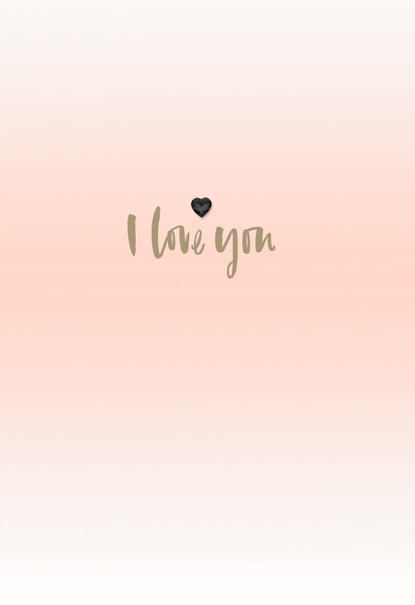 I Love You Blank Valentines Day Card Greeting Cards