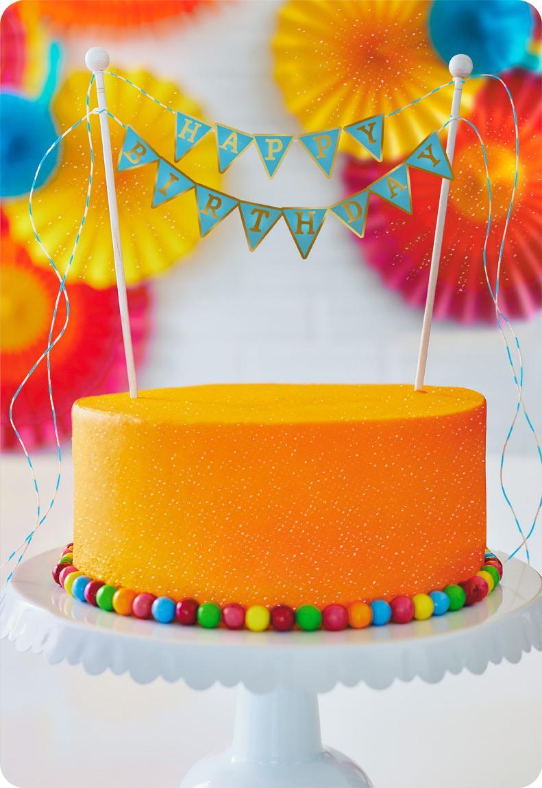Happy Birthday Cake Jumbo Birthday Card 1625 Greeting