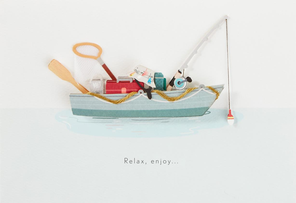 Fishing Boat Birthday Card For Dad Greeting Cards Hallmark