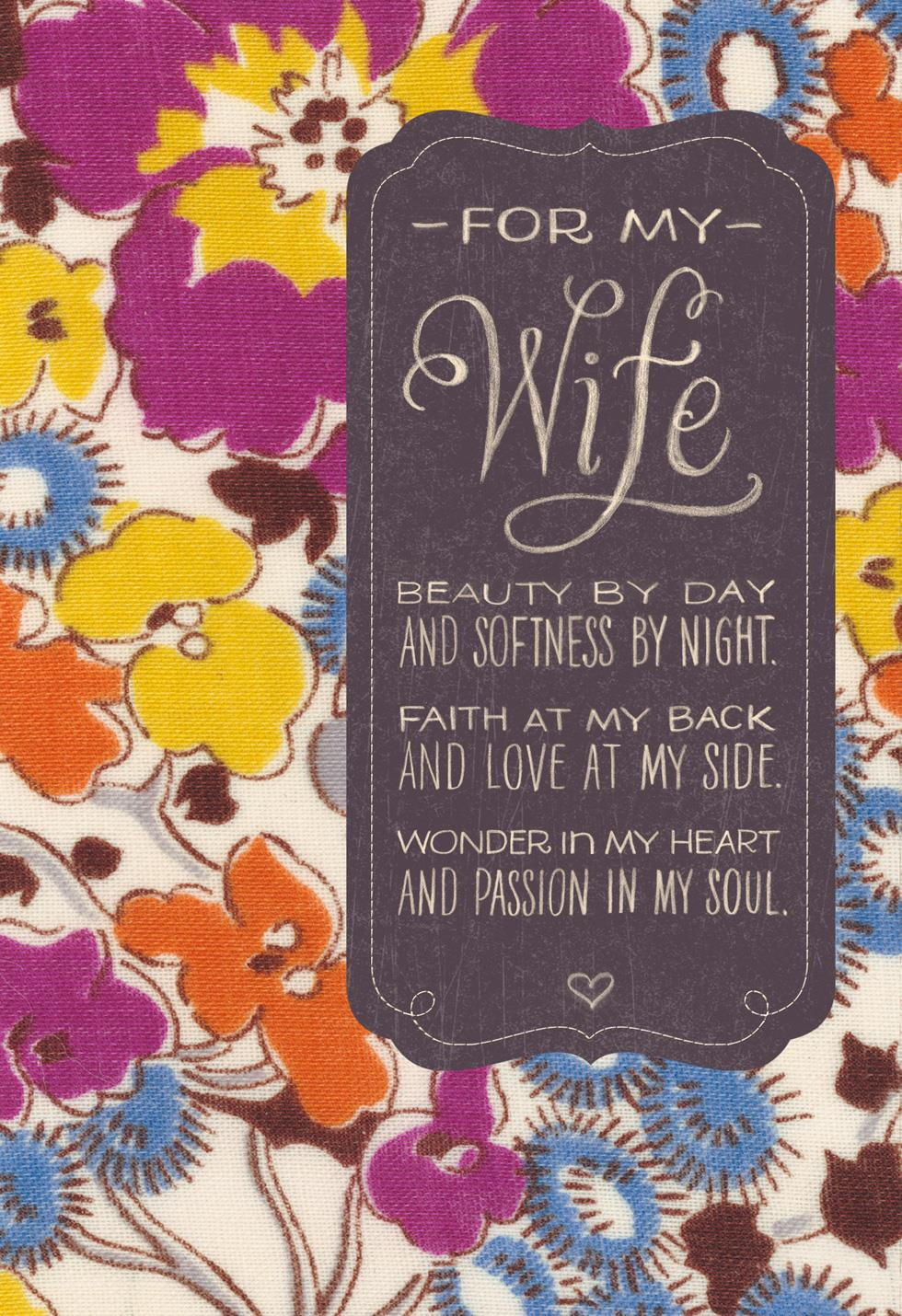 Beauty By Day Wife Birthday Card Greeting Cards Hallmark