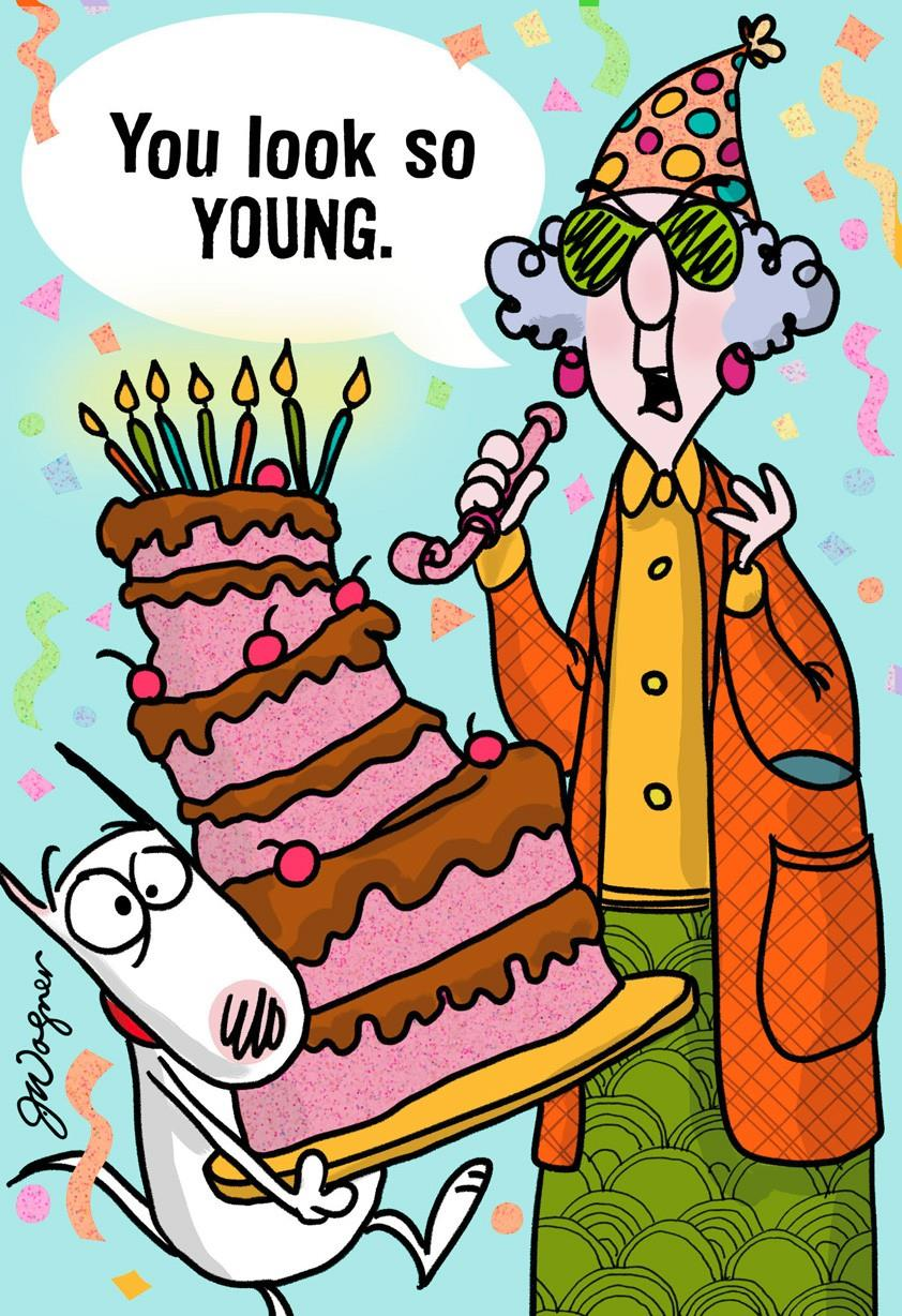 So Young Funny Birthday Card Greeting Cards Hallmark