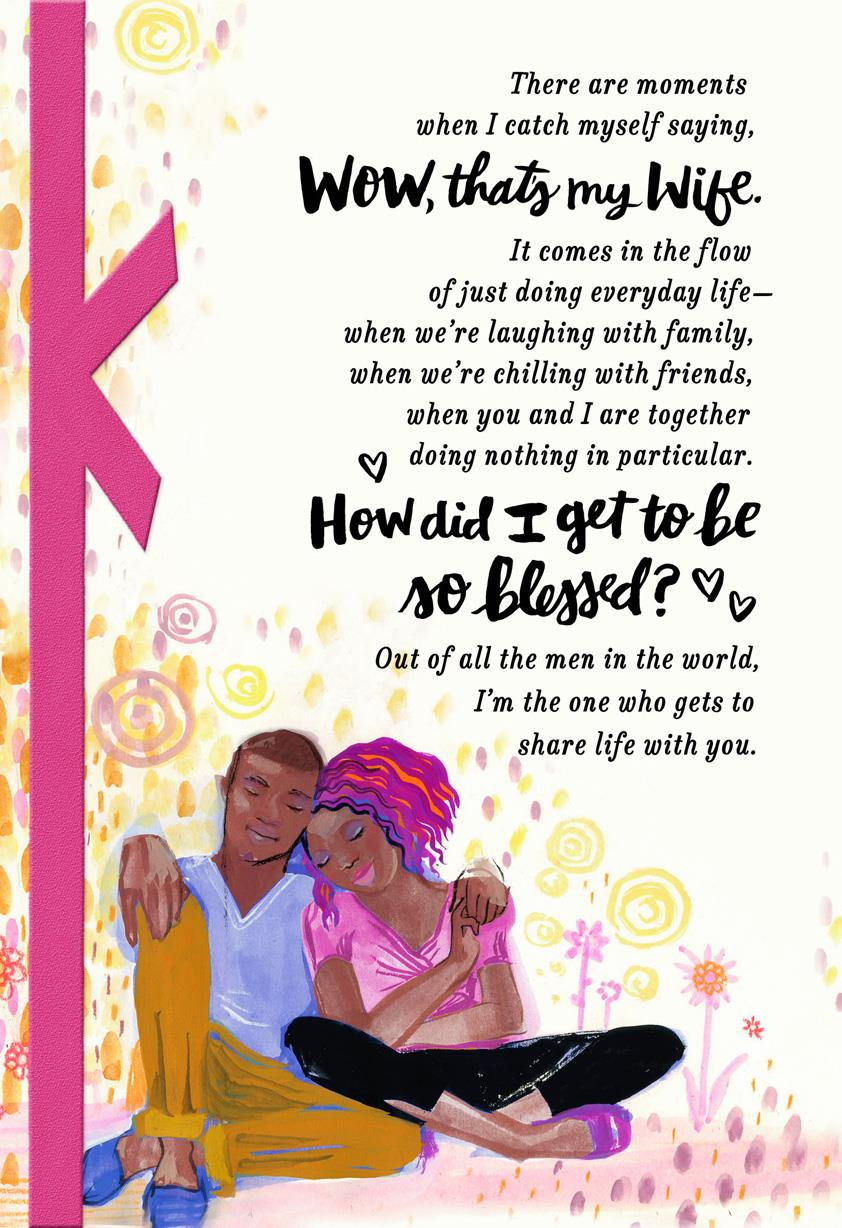 Grateful Husband Religious Birthday Card For Wife