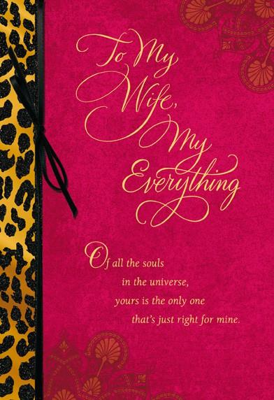 My Wife My Everything Greeting Cards Hallmark