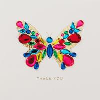 Beautiful Butterfly Thank You Card - Greeting Cards - Hallmark