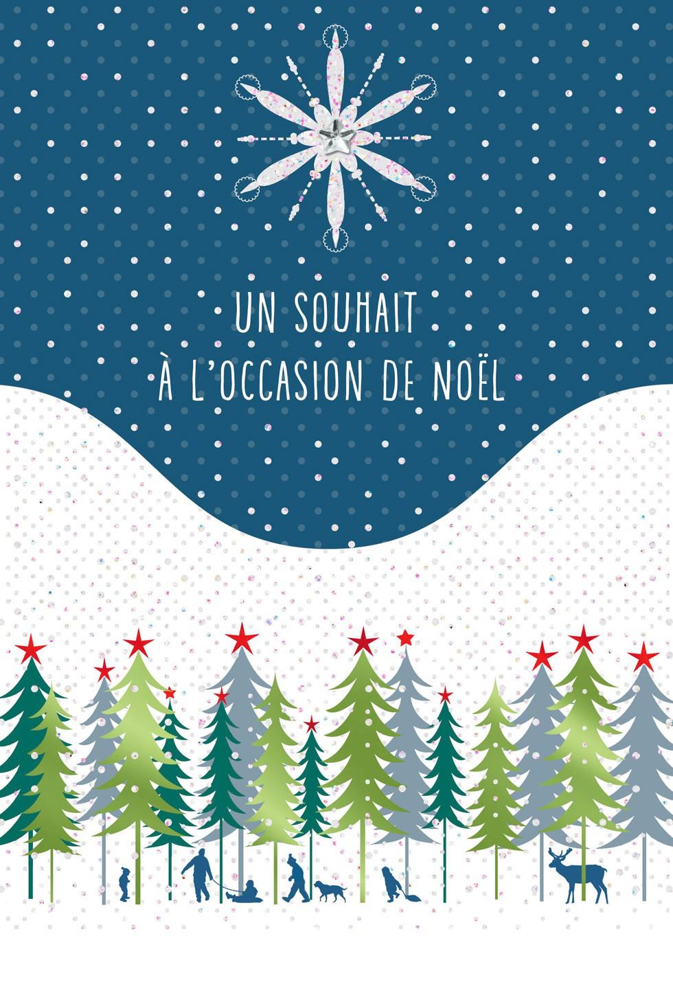 Joyeux Noel FrenchLanguage Christmas Card  Greeting Cards  Hallmark