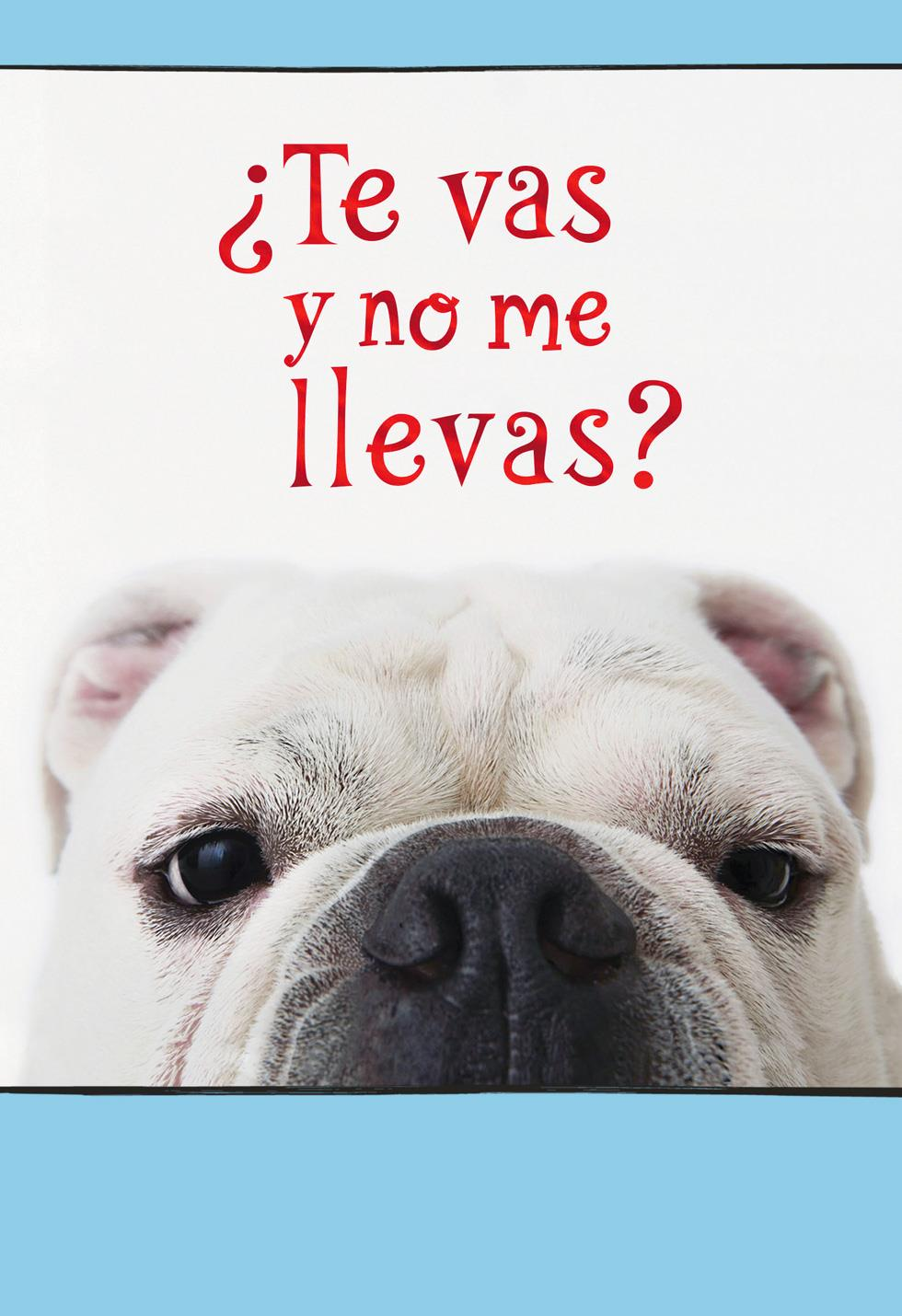 Leaving Without Me? Funny Spanish Language Goodbye Card