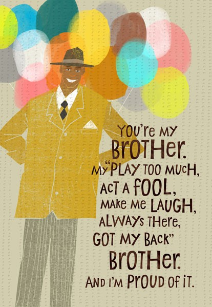 Brother Love Birthday Card Greeting Cards Hallmark