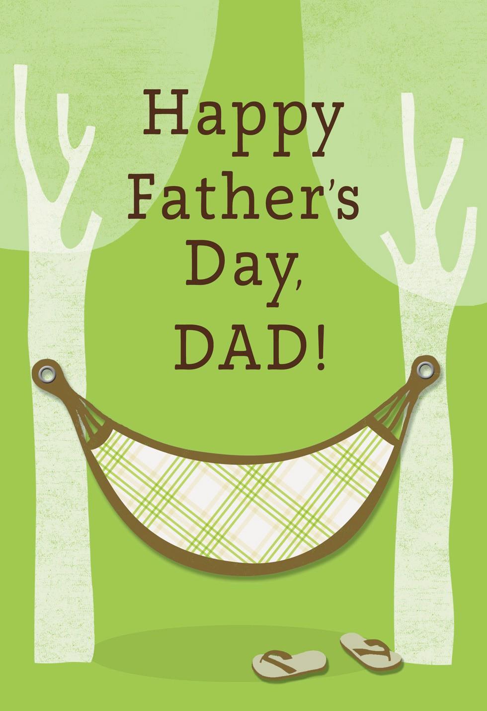 Tree Hammock Fathers Day Card Greeting Cards Hallmark