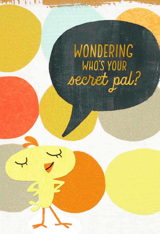 Secret Pal Easter Card Greeting Cards Hallmark