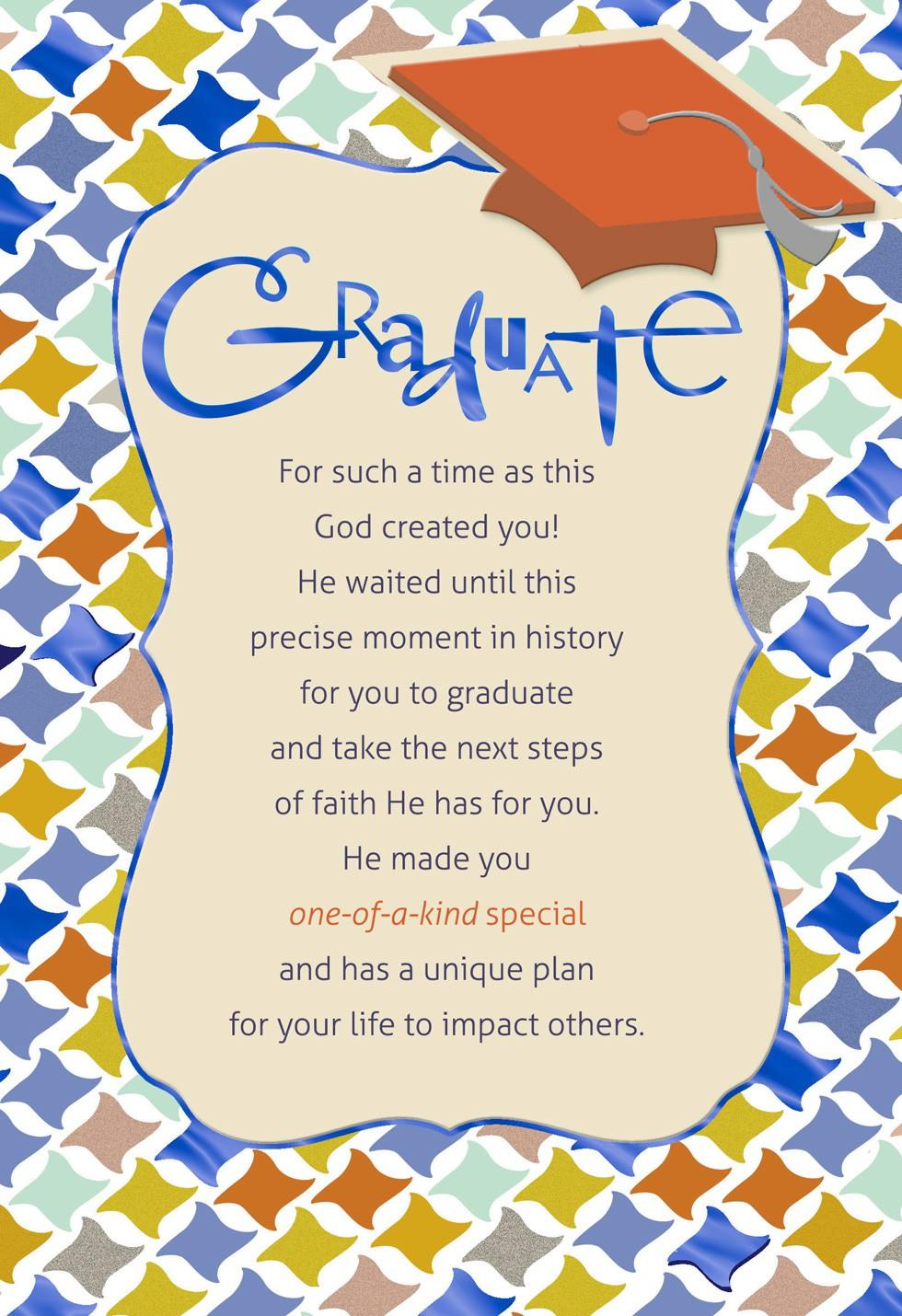 Geometric Religious Graduation Card Greeting Cards