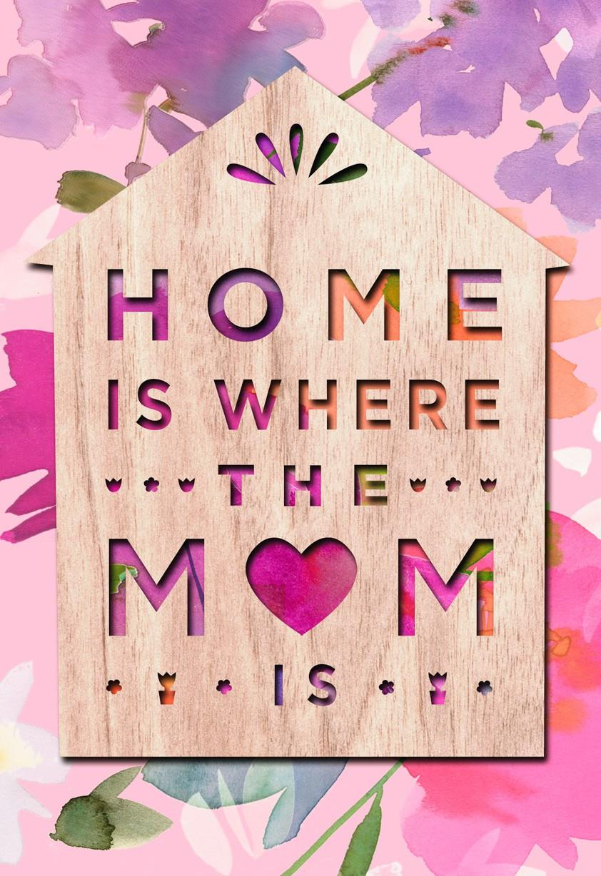 Mom Makes Home Mothers Day Card Greeting Cards Hallmark