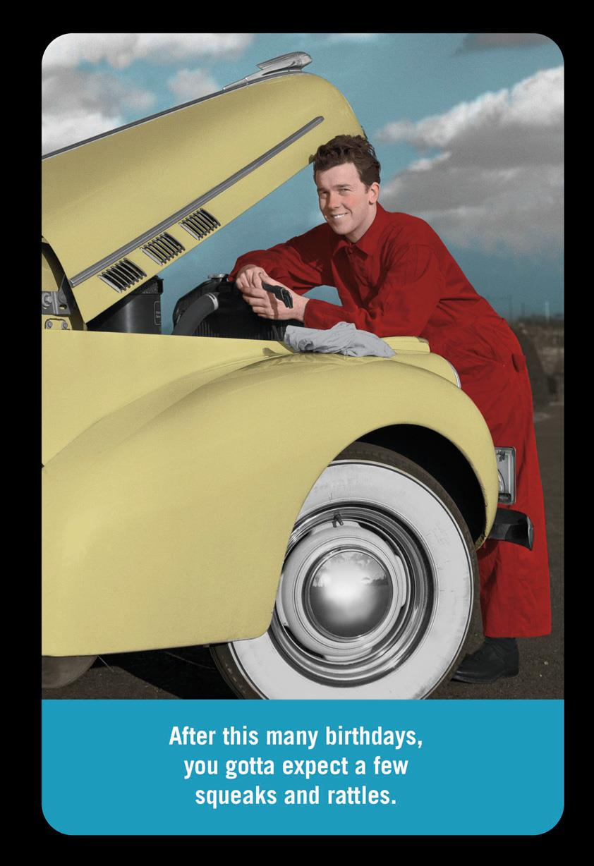 Car Mechanic Squeaks and Rattles Funny Birthday Card  Greeting Cards  Hallmark