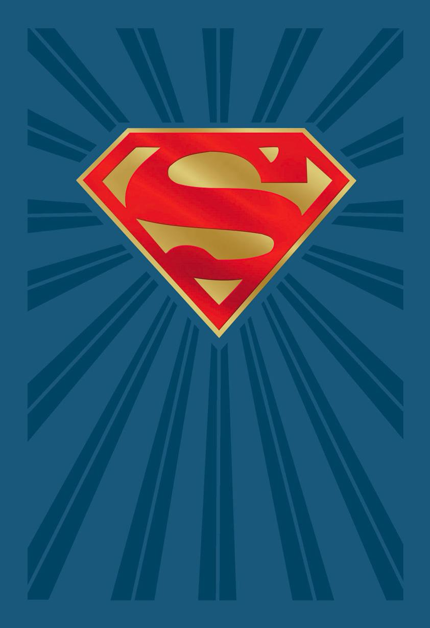 DC Comics Superman Shield Logo Birthday Card  Greeting