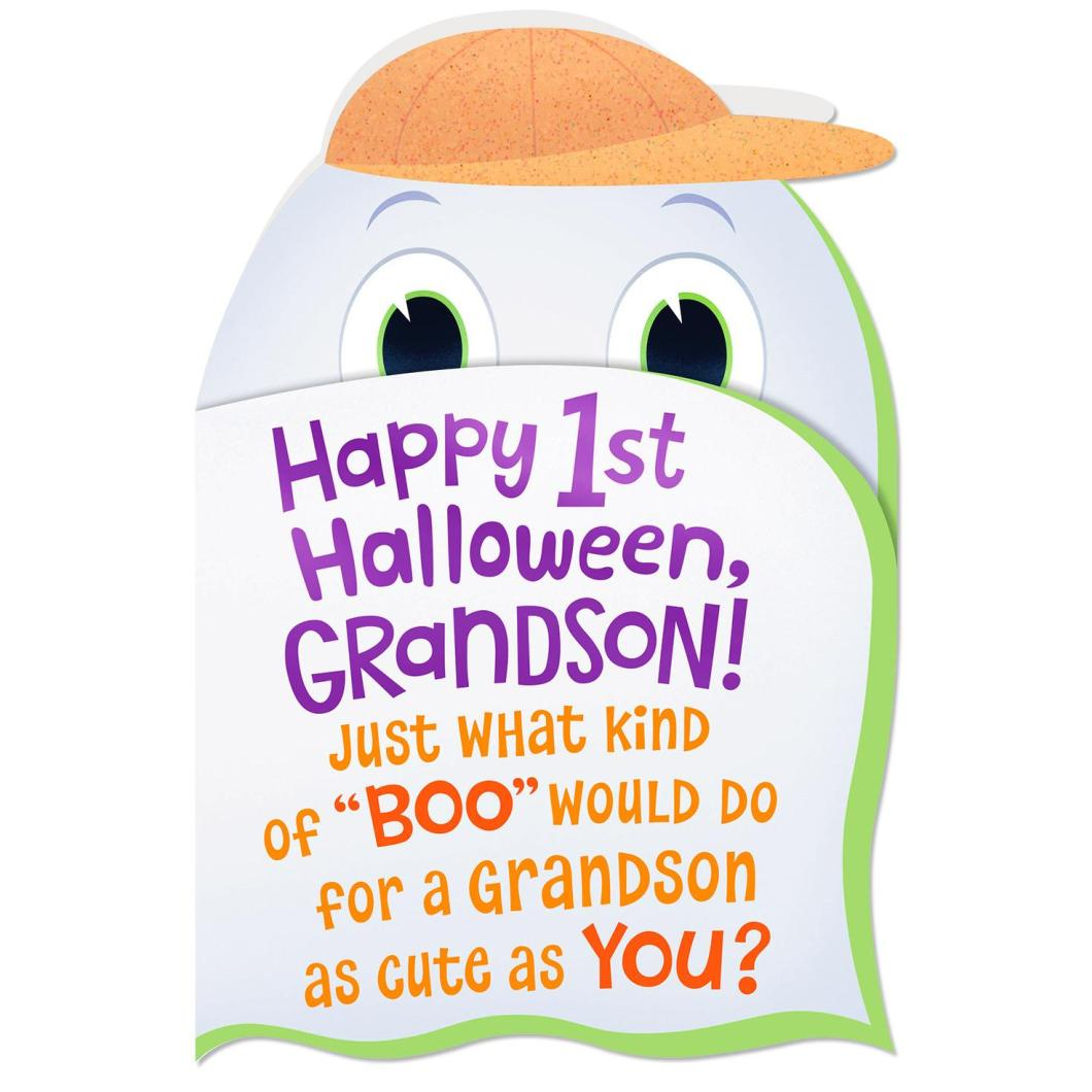 what to write in grandsons halloween card | hallowen