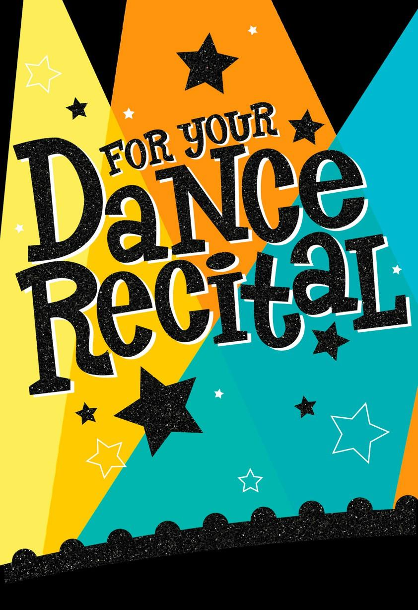 Dance Recital Congratulations Card Greeting Cards Hallmark