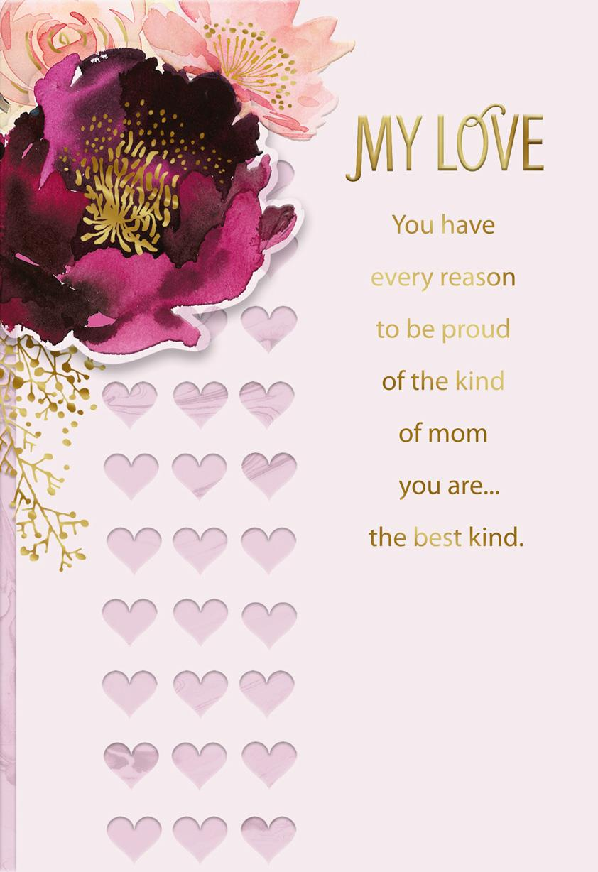 Best Mom And Best Wife Mothers Day Card Greeting Cards