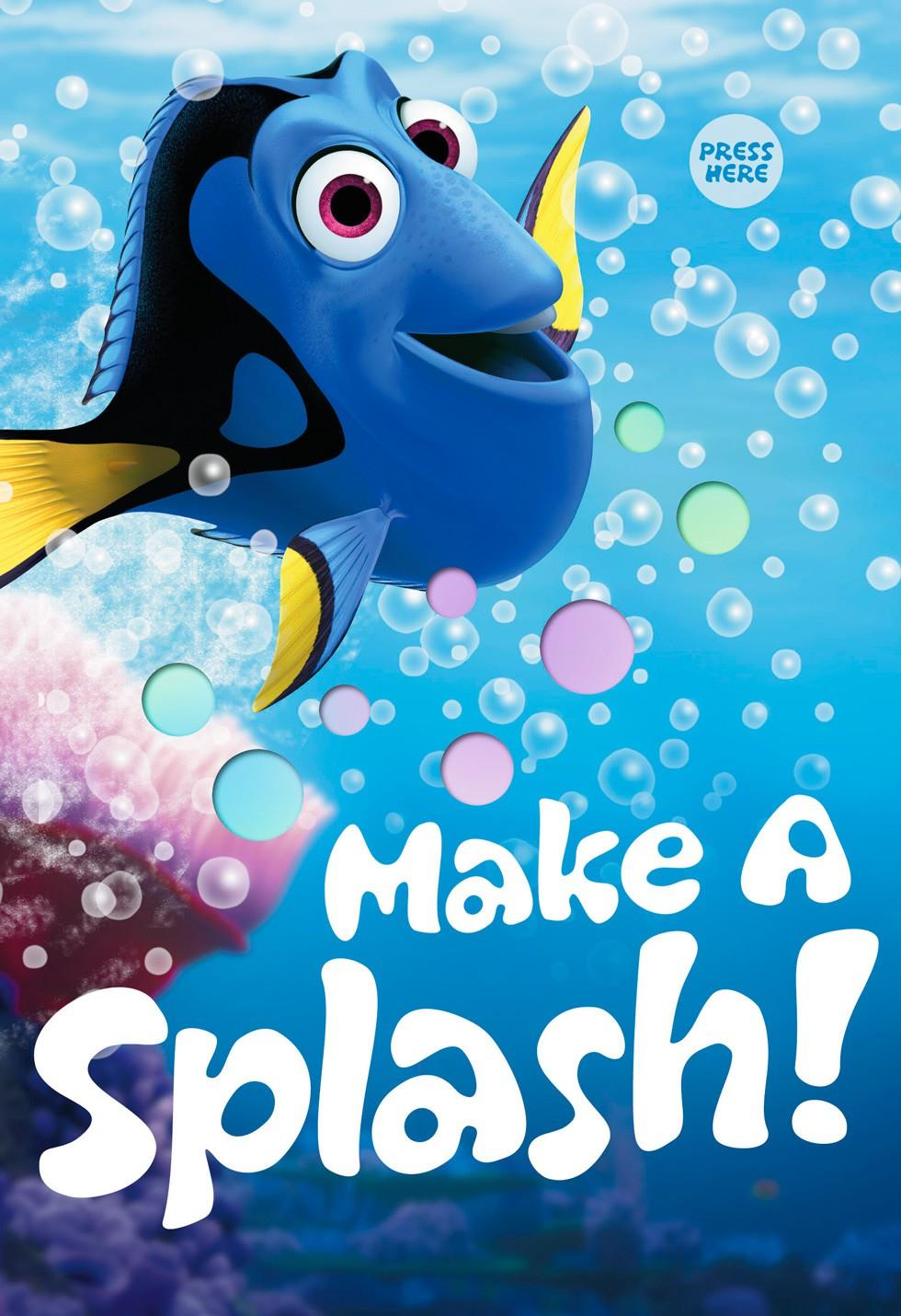 Make A Splash Kids Birthday Light And Song Card Greeting