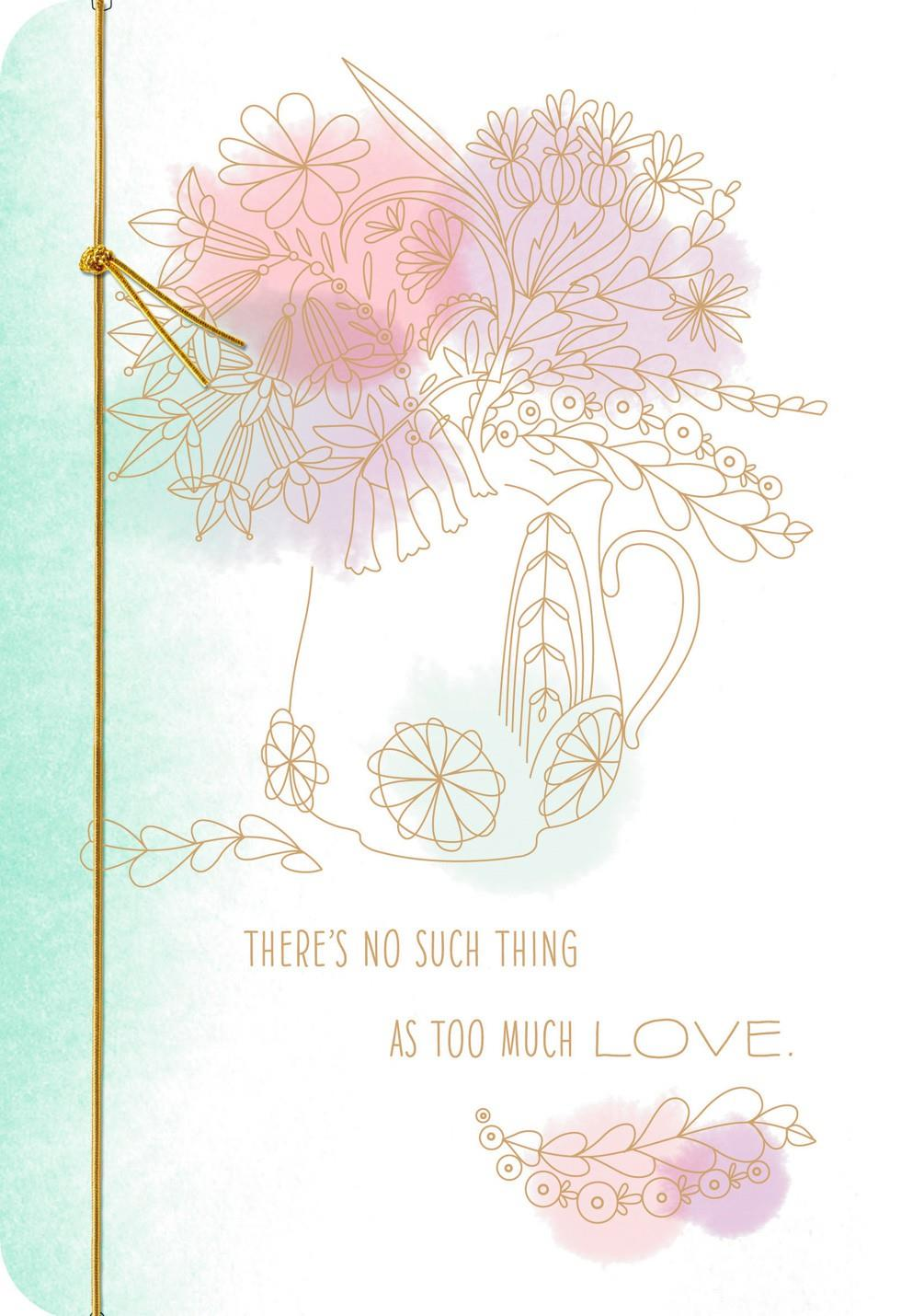 Perfect Love Grandma Mother's Day Card Greeting Cards