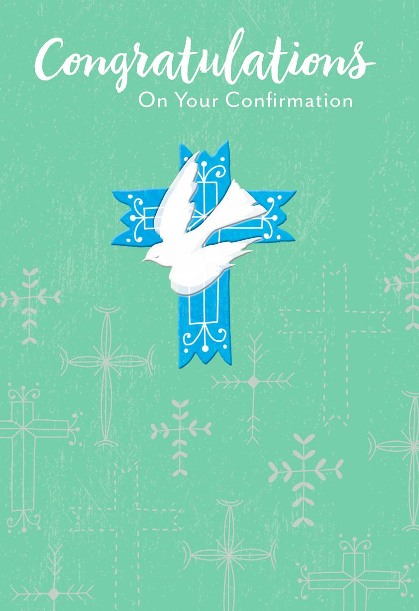 Dove And Crosses Confirmation Card Greeting Cards Hallmark