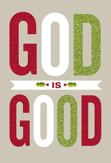 God Is Good Christmas Card Greeting Cards Hallmark