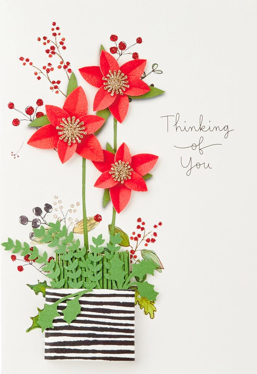 Thinking Of You Christmas Card Greeting Cards Hallmark