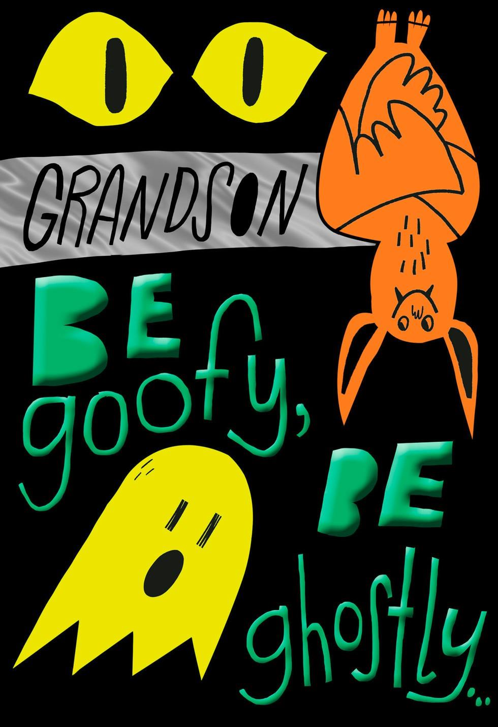 Fun Halloween Wishes For Grandson Halloween Card Greeting Cards Hallmark