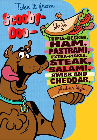 Scooby Doo Sandwich Birthday Card Greeting Cards Hallmark