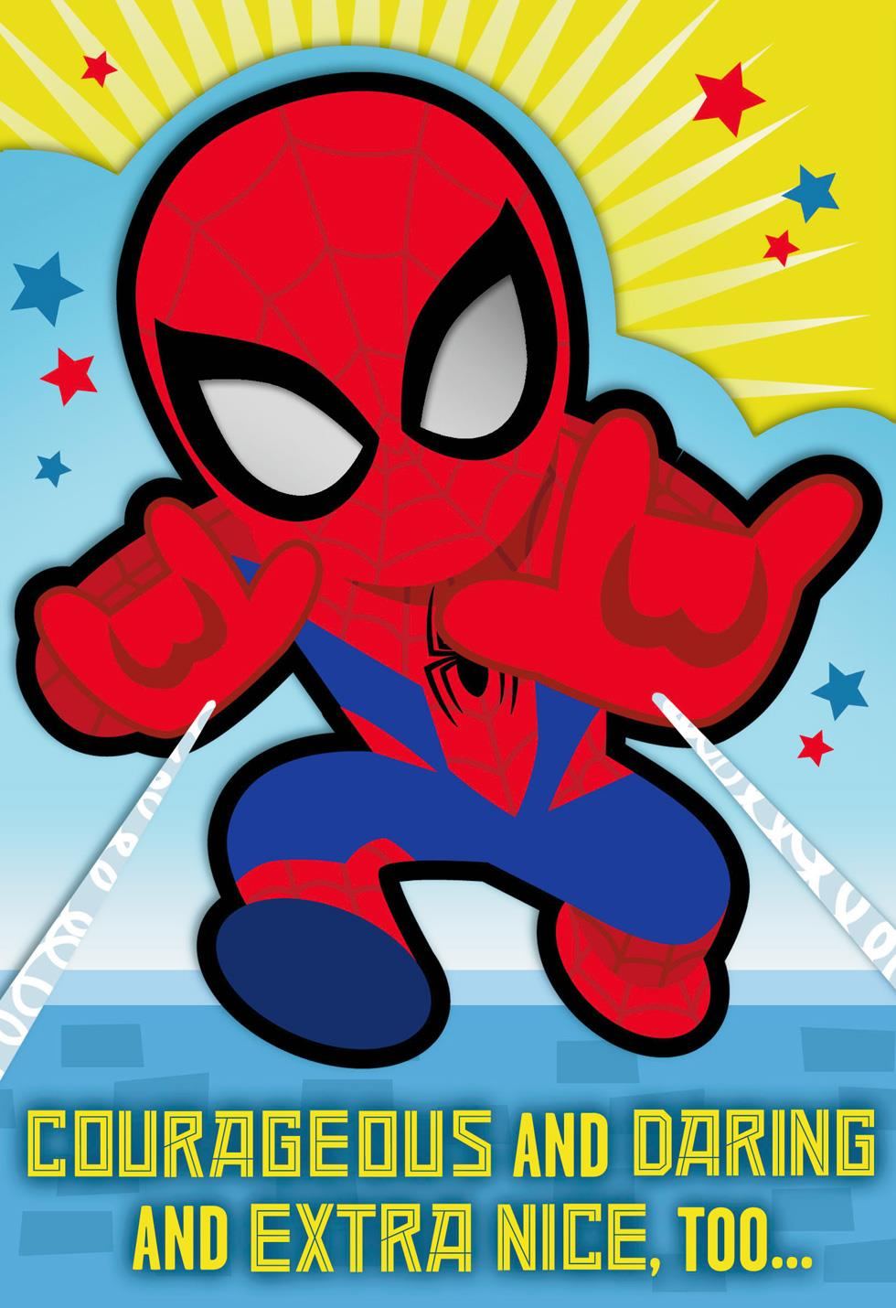 MARVEL Spider Man™ You're A Great Kid Birthday Card
