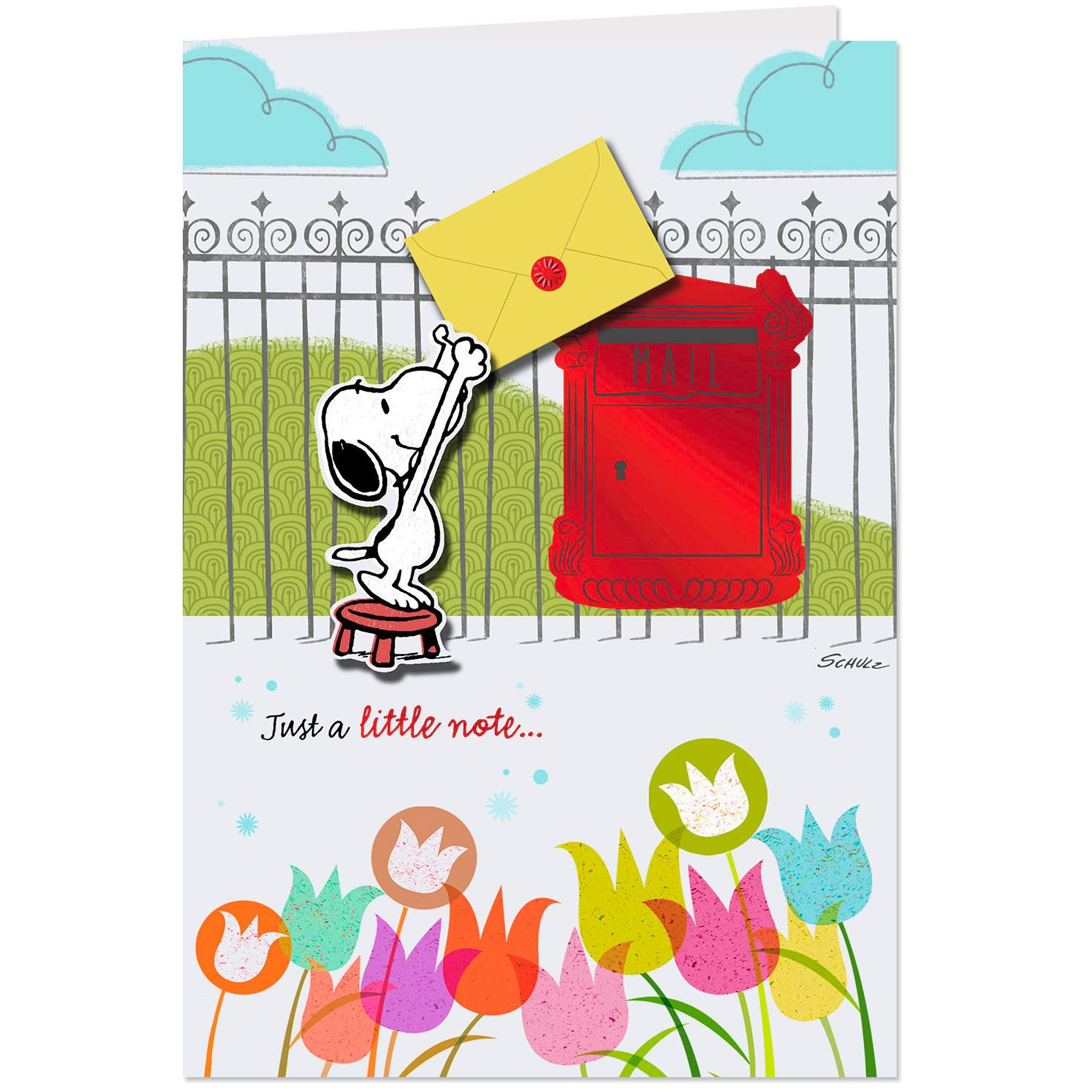 Peanuts® Snoopy All The Happy Wishes Birthday Card