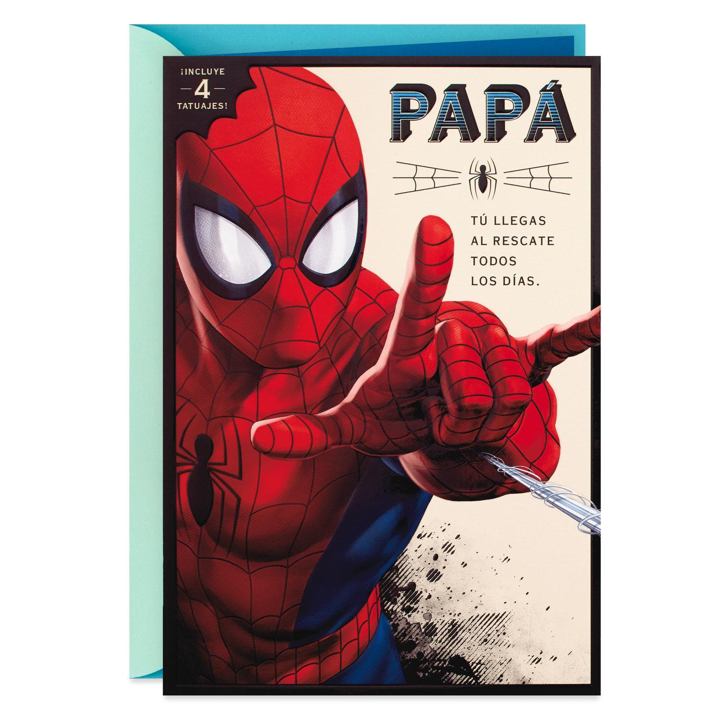 marvel spider man spanish