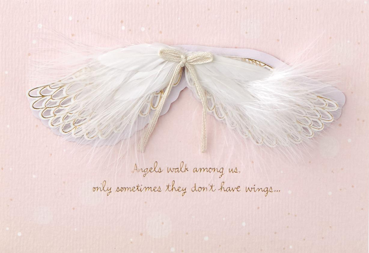 Angel Wings Mothers Day Card Greeting Cards Hallmark
