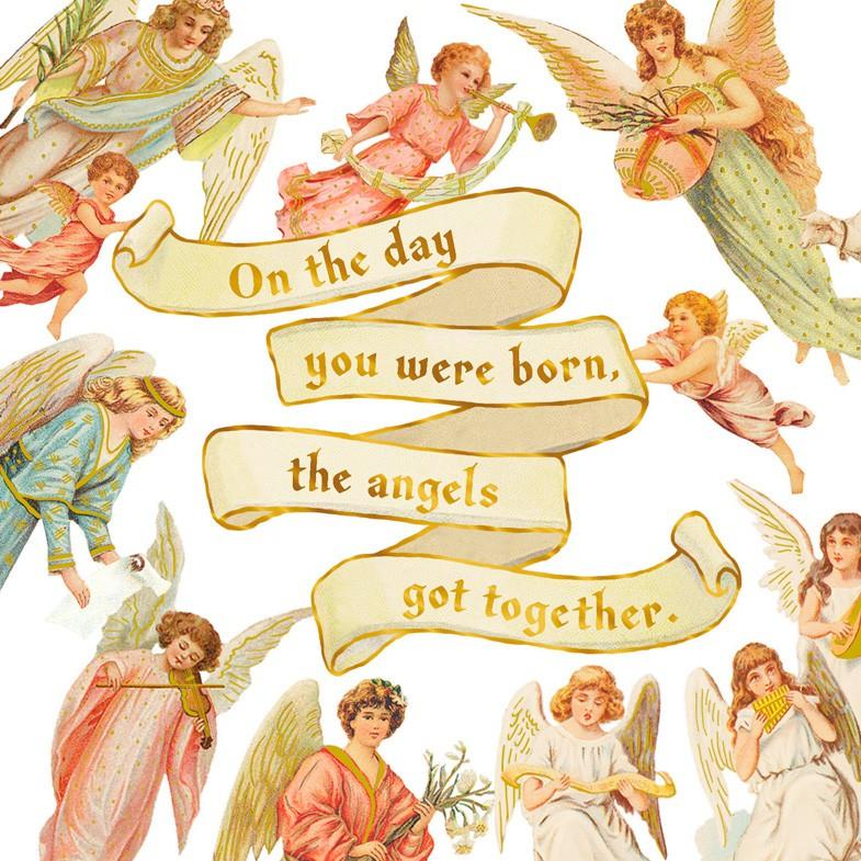 Angels Birthday Card Greeting Cards Hallmark