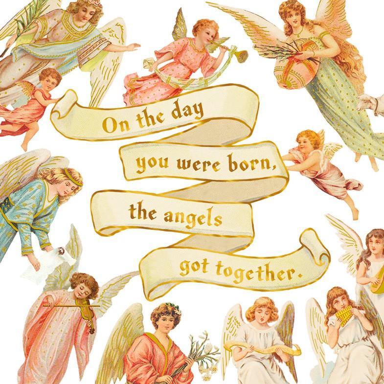 Angels Birthday Card Greeting Cards Hallmark