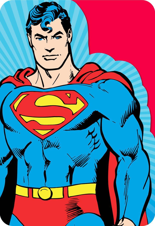Superman Mega Awesome Birthday Card Greeting Cards