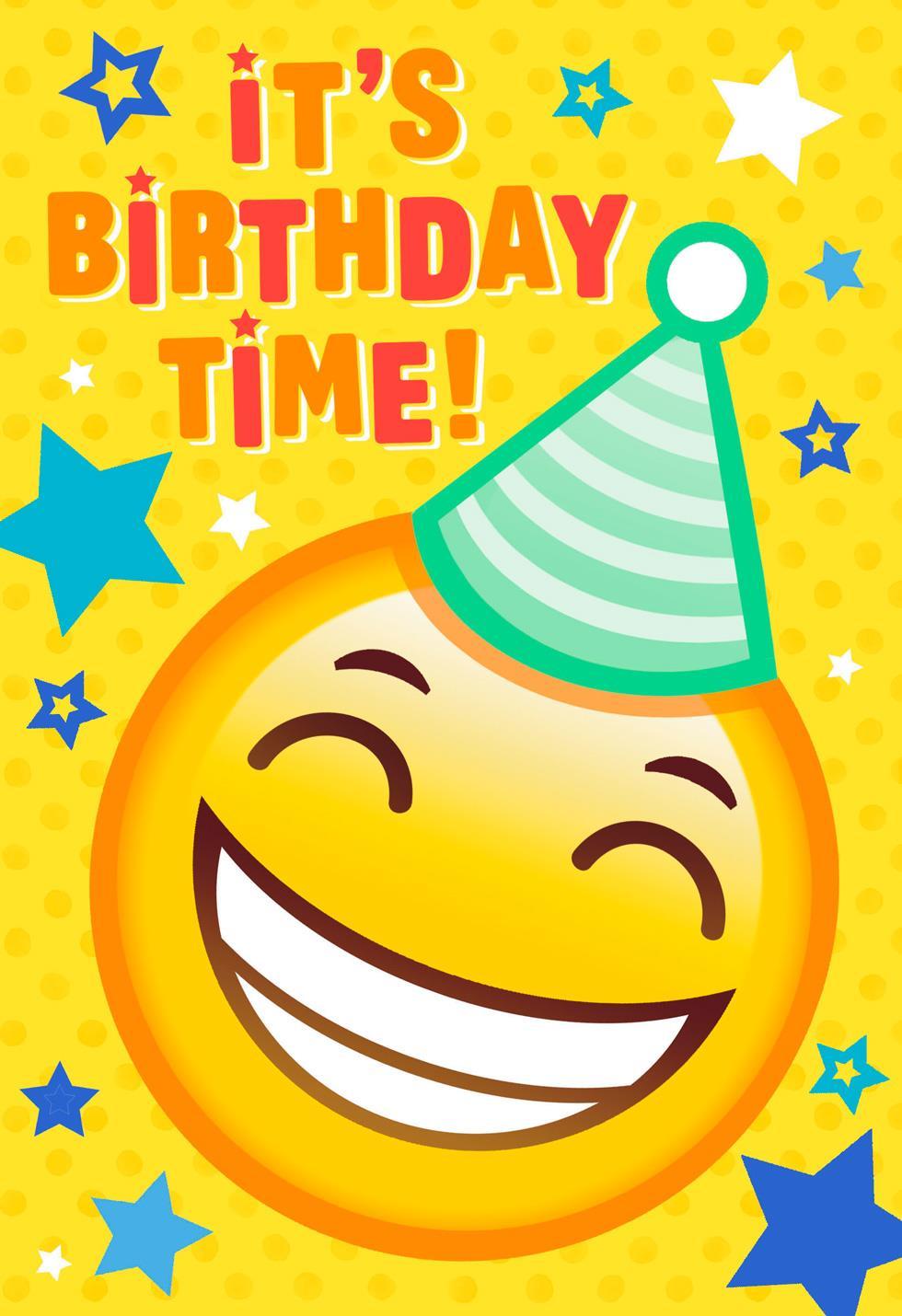 Emoji Door Hanger Birthday Card  Greeting Cards  Hallmark