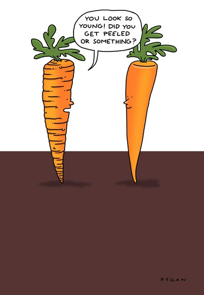 Carrot Peel Funny Birthday Card Greeting Cards Hallmark