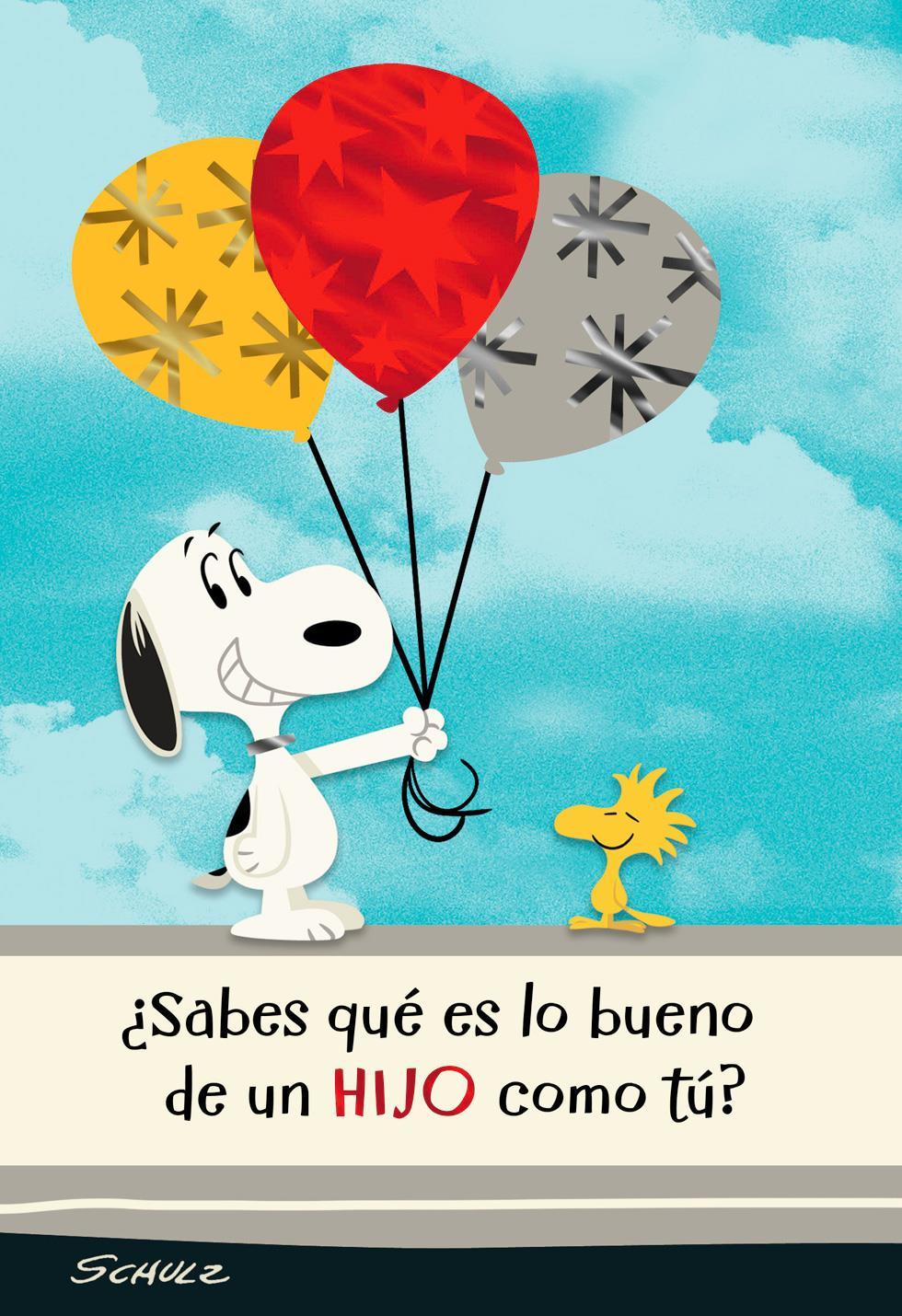 Peanuts Snoopy And Woodstock Spanish Language Birthday