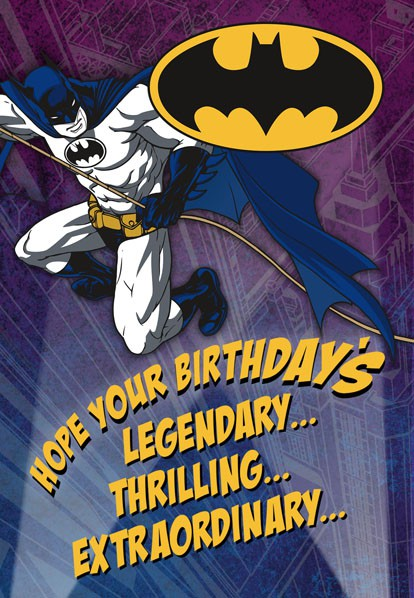 Batman™ Legendary Birthday Card Greeting Cards Hallmark