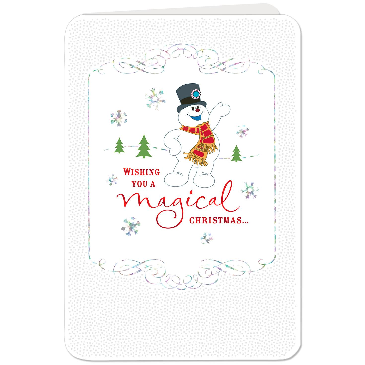 Frosty the Snowman™ Fun That Lasts Christmas Card