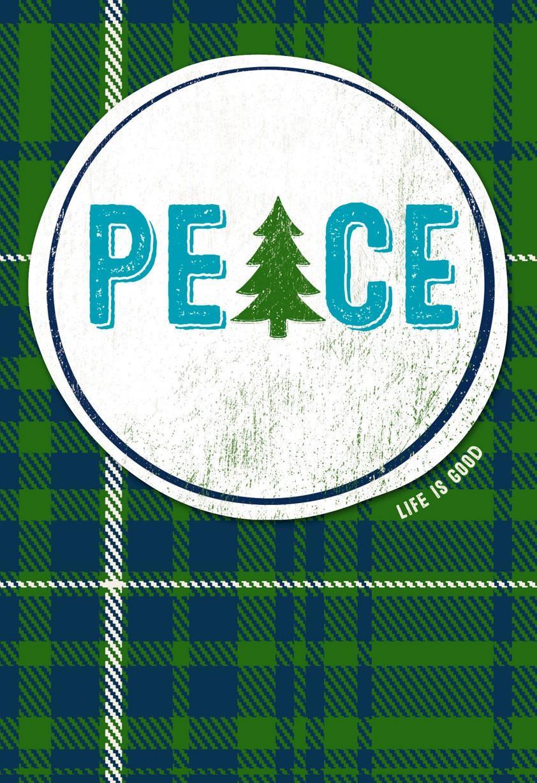 Life Is Good Peace Christmas Card Greeting Cards Hallmark