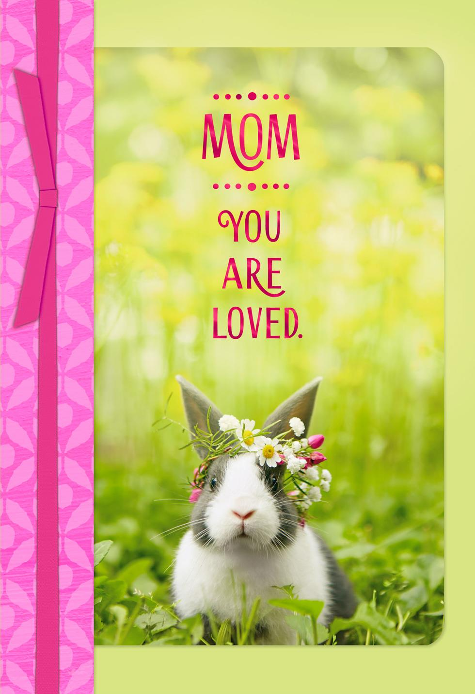 Mom You Are Loved Easter Card Greeting Cards Hallmark