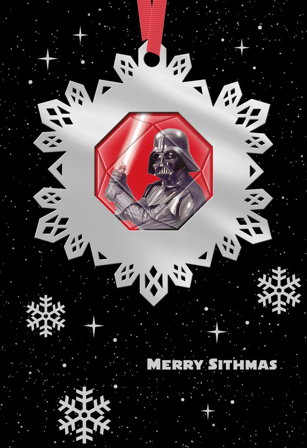Star Wars A Day To Remember Christmas Card With Ornament