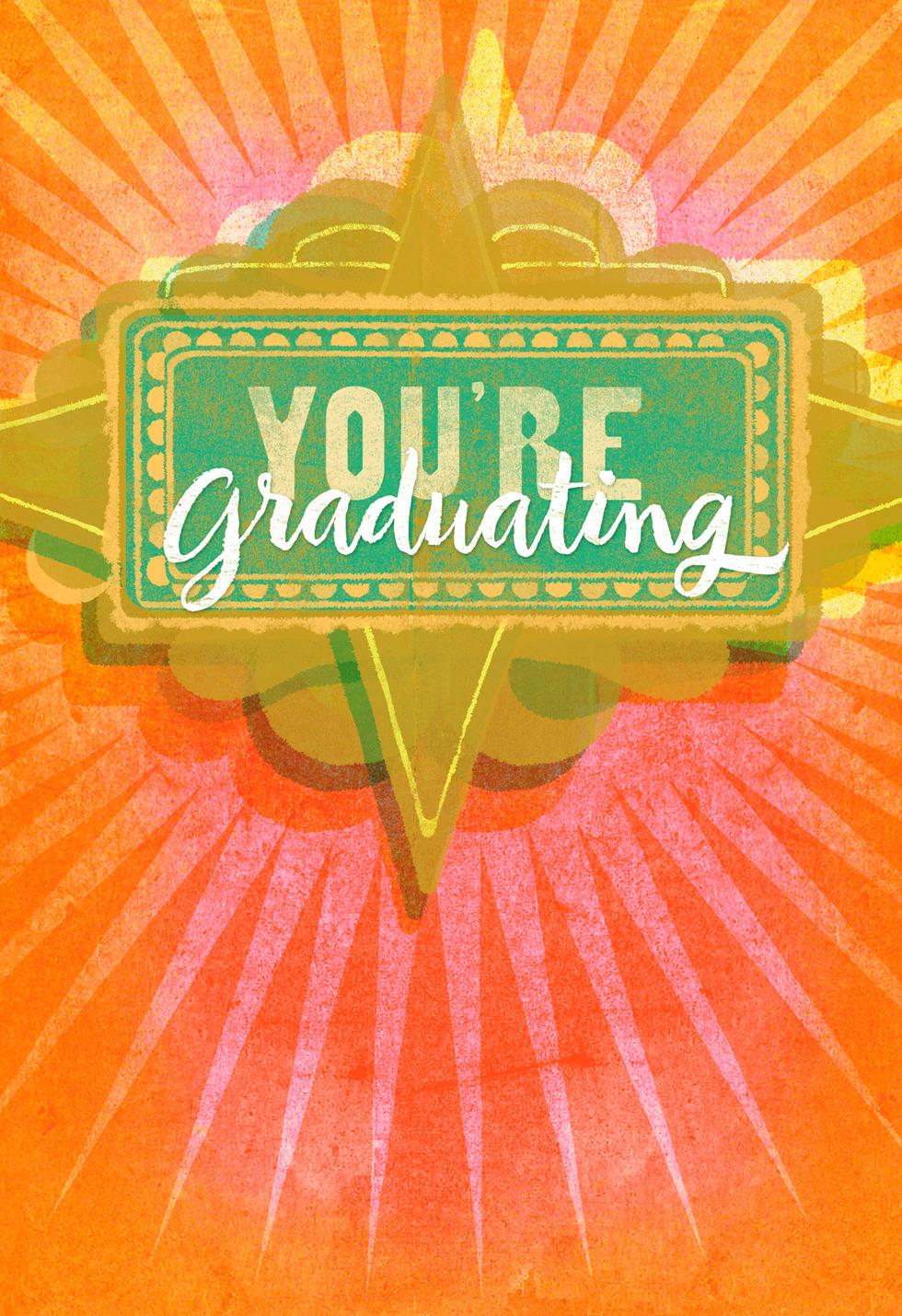 Jill Scott Shine On Musical Graduation Card Greeting
