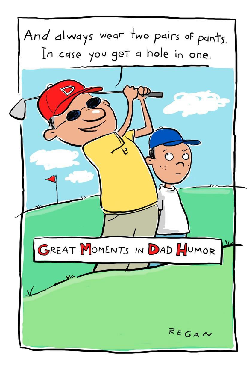 Golf Humor Funny Father's Day Card Greeting Cards Hallmark