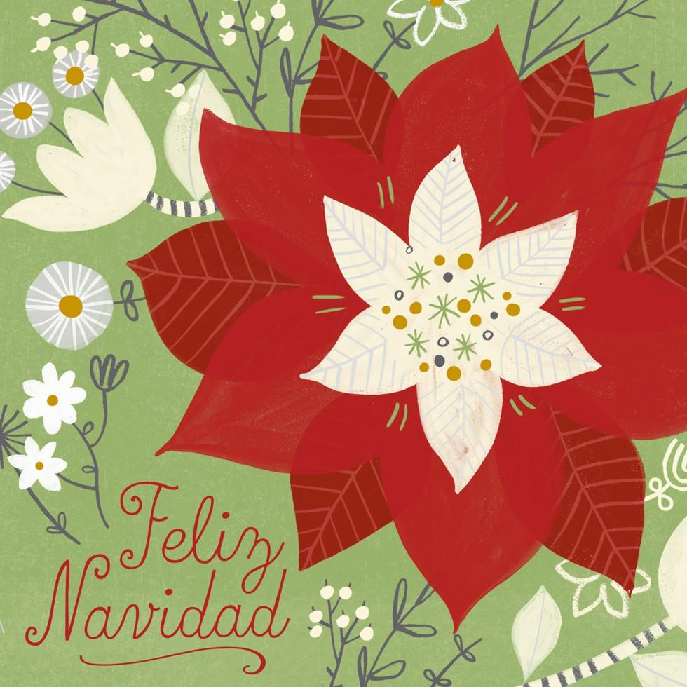 Feliz Navidad Christmas Song Card Greeting Cards Hallmark