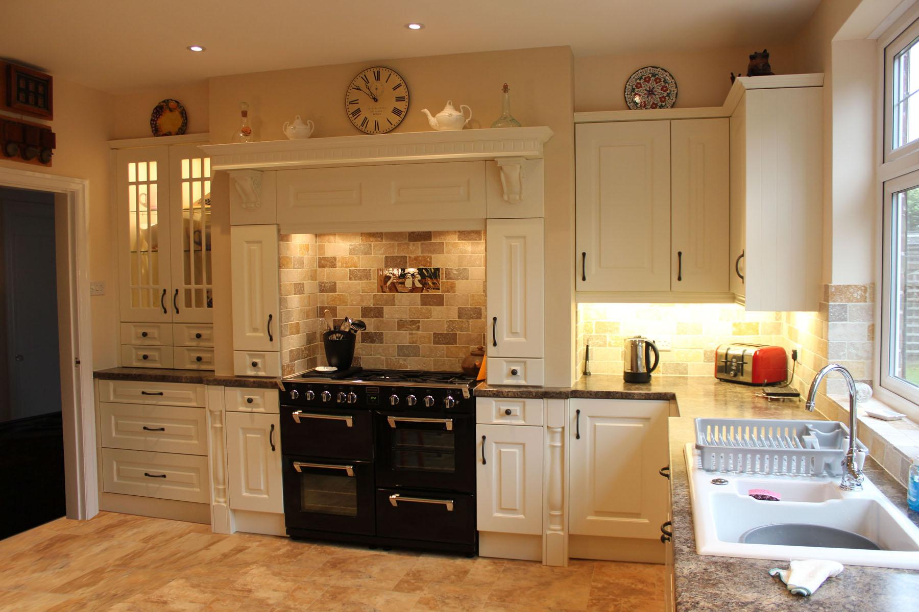 cream kitchen cabinet ideas backsplash tile design traditional hallmark designs