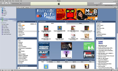 iTunes Store - Podcast Reader