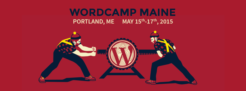 WordCamp Maine 2015 Logo