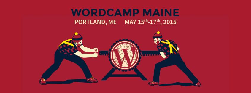 WordCamp Maine 2015 Logo